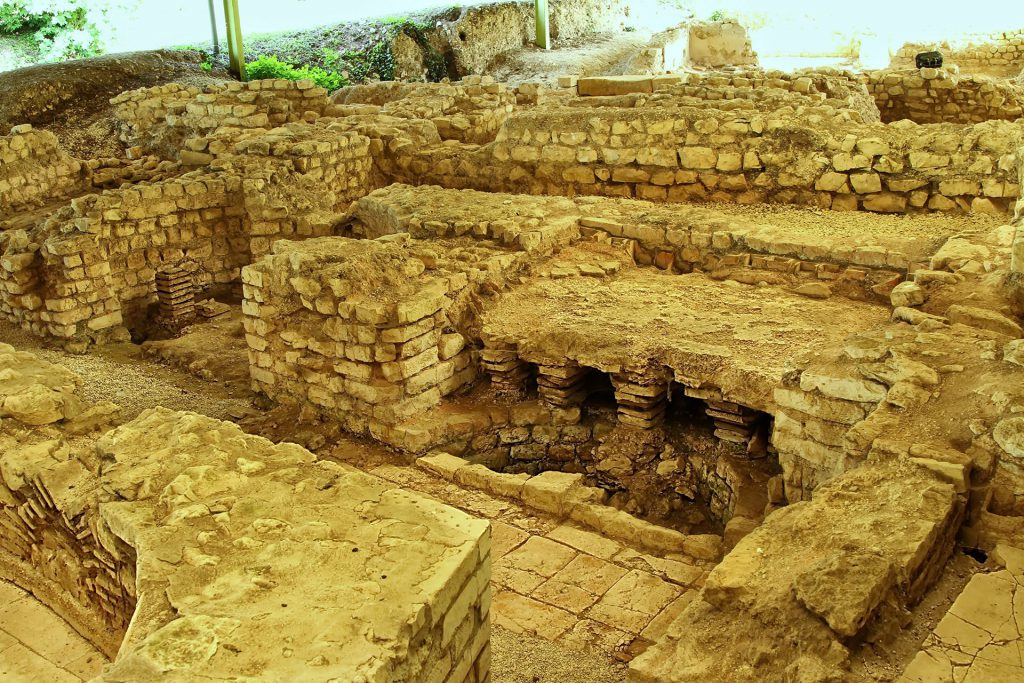 Photo des bains romains